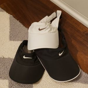 THREE Nike Visors
